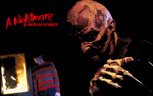 A Nightmare on Elm kalye wolpeyper called freddy krueger