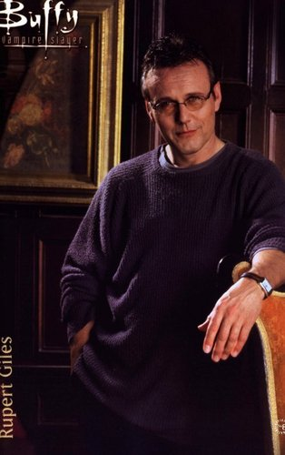 Buffy the Vampire Slayer wallpaper titled giles