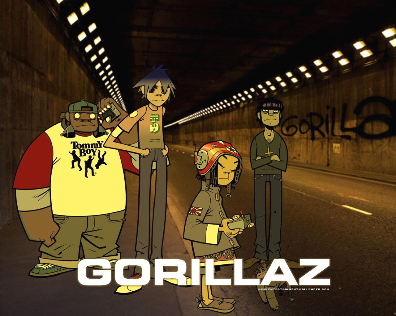Gorillaz Wallpaper gorillaz - gorillaz Wallpaper
