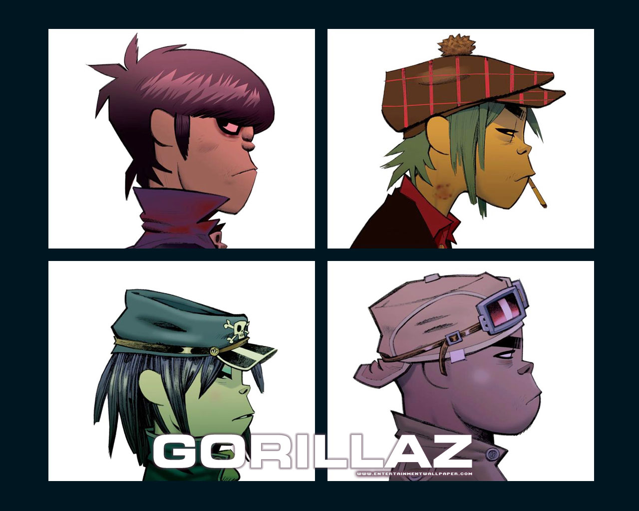 Gorillaz Images Gorillaz Hd Wallpaper And Background Photos 875502