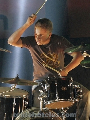 gustav and drums