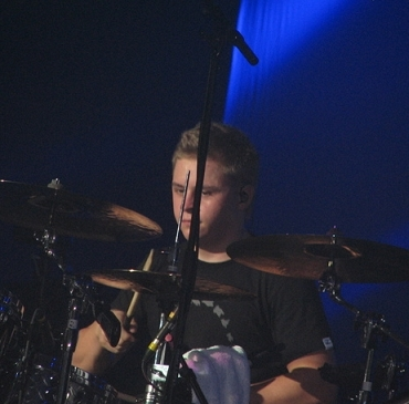 gustav and his drums