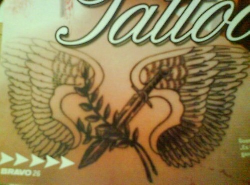 gustavs tattoo on his back
