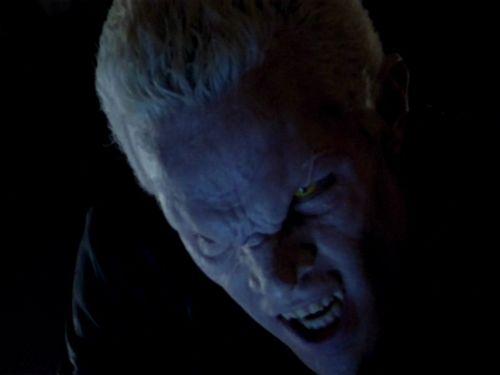halloween vampire face