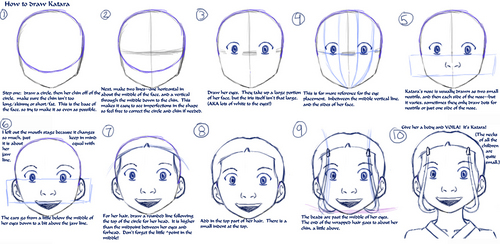 how to draw katara