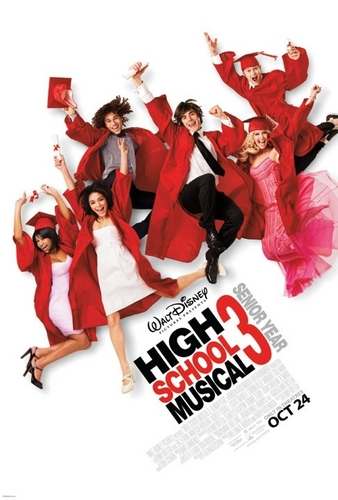 High School Musical 3 Poster (Official)