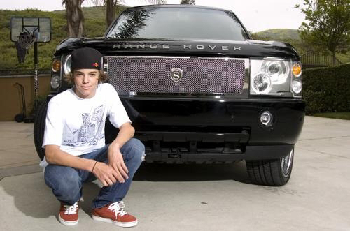 photo of Ryan Sheckler  - car