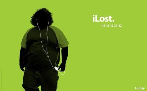 iPod wallpaper entitled iLost
