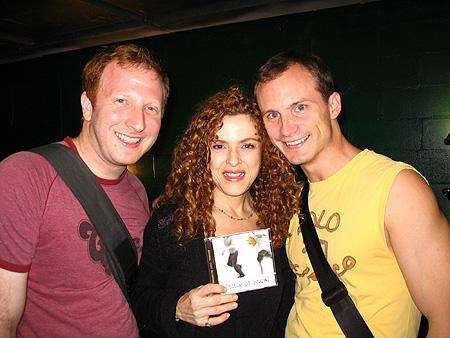 jeff and hunter and bernadette peters.