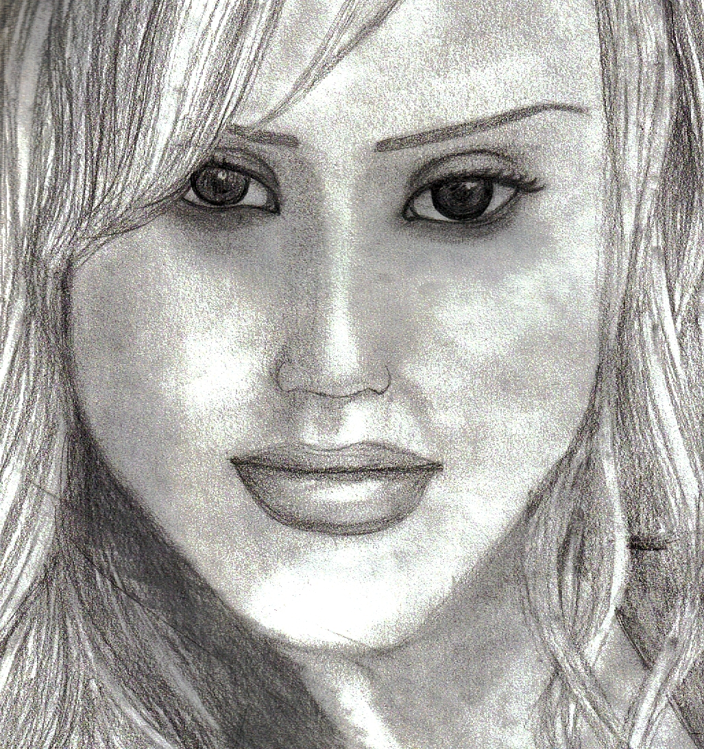jessica alba drawings