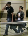 jophia @ LAX airport together! - sophia-bush-and-james-lafferty photo
