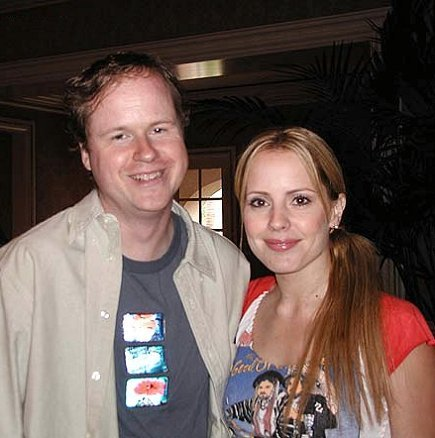joss whedon and emma caulfield