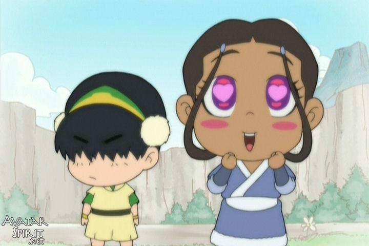 avatar katara and zuko. katara likes zuko