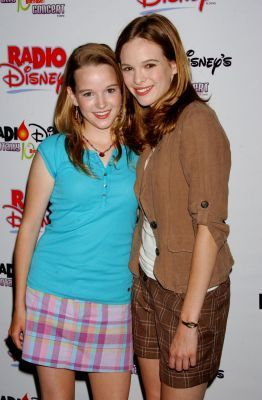 Kay Panabaker and her sister