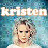 Kristen Bell photo containing a portrait called kristen<33