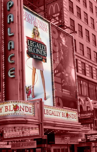 Legally Blonde the Musical images legally blonde in the big red apple. wallpaper and background photos