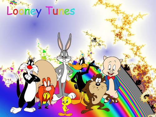 Looney Tunes achtergrond with anime called looney tunes