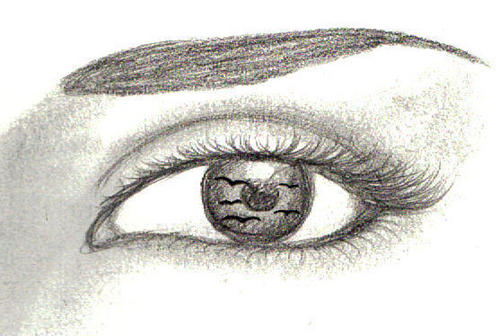 max's eye