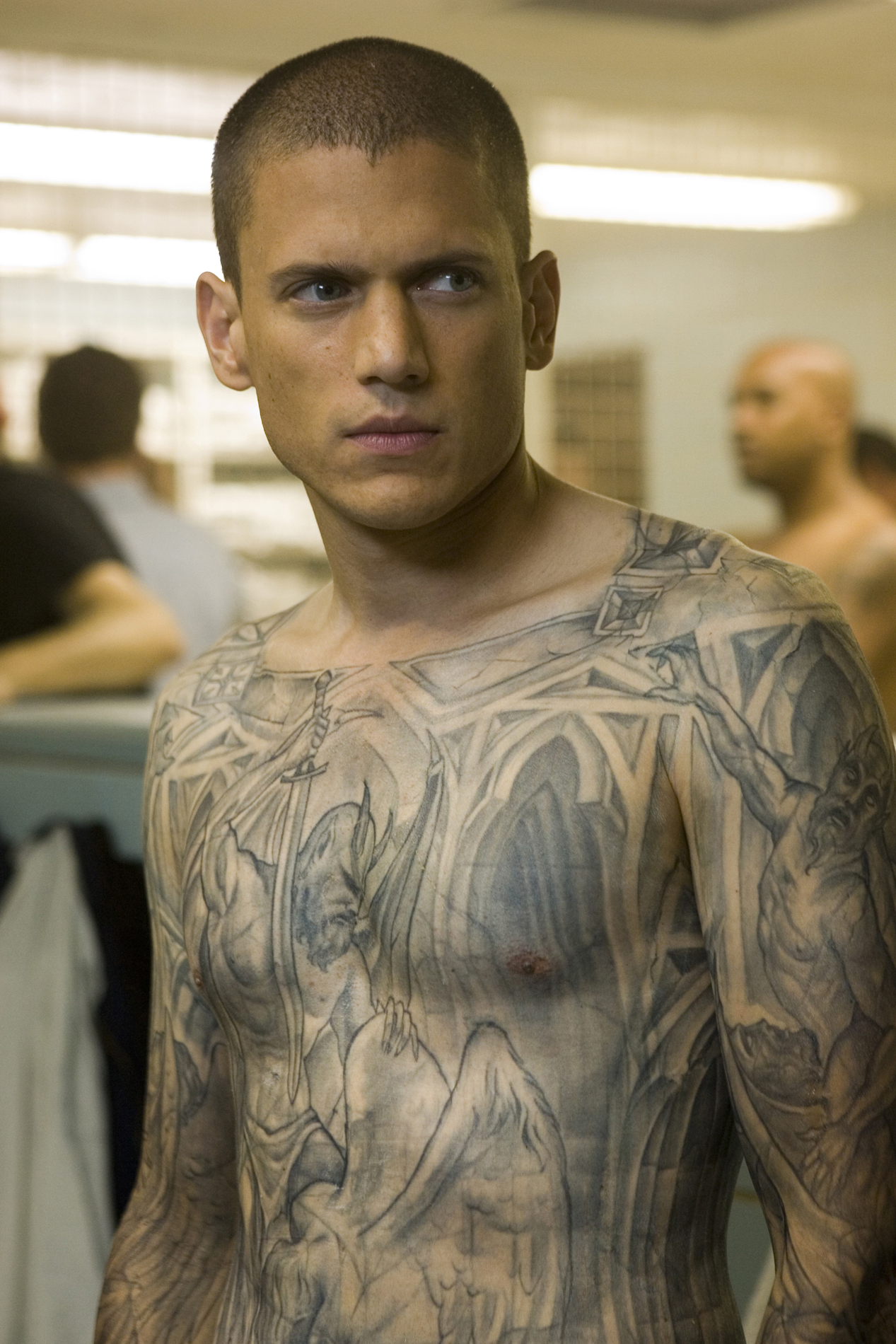 Wentworth Miller Prison Break Tattoo