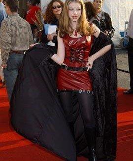 michelle as a vampire