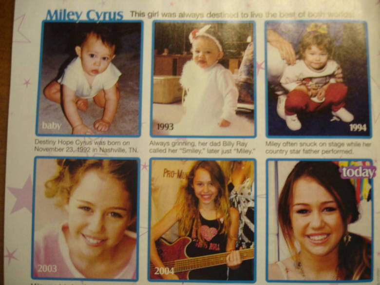 miley little to now