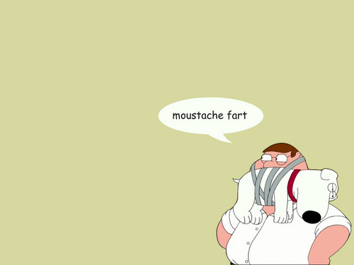 moustache fart - family-guy Wallpaper