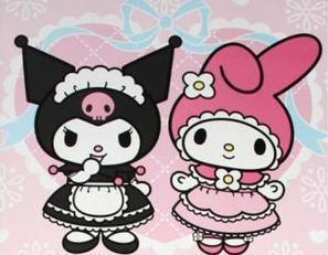 my melo and kuromi