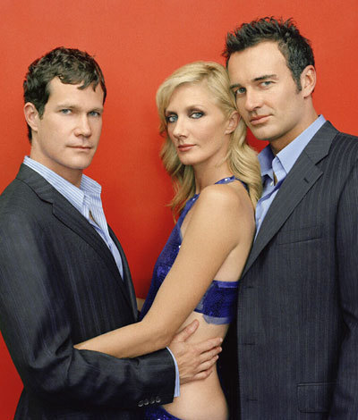 Nip/Tuck wallpaper containing a business suit, a suit, and a two piece called nip tuck