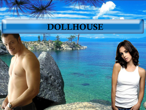 Dollhouse achtergrond titled paul and echo