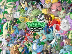 pokemon acanthite version - pokemon Photo