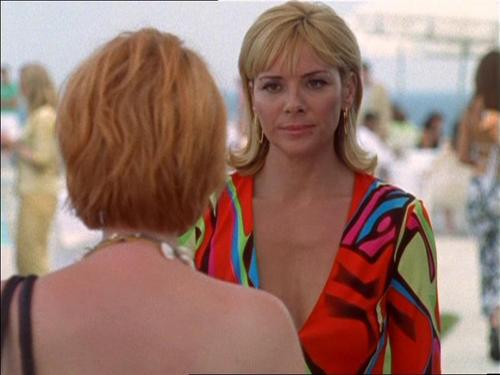 Samantha Jones wallpaper possibly with a portrait called sam