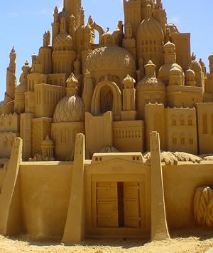 sand замок
