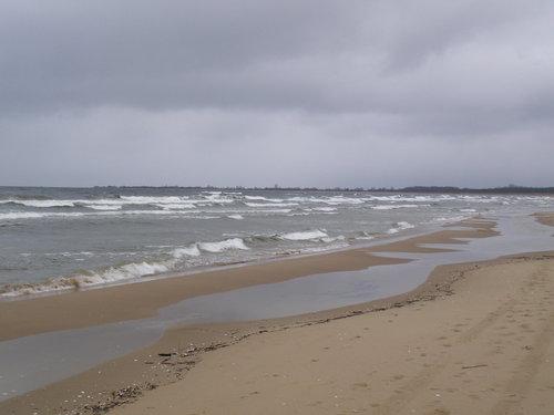 polish seaside in October