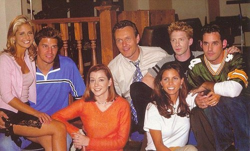 Buffy the Vampire Slayer achtergrond entitled season 3 cast