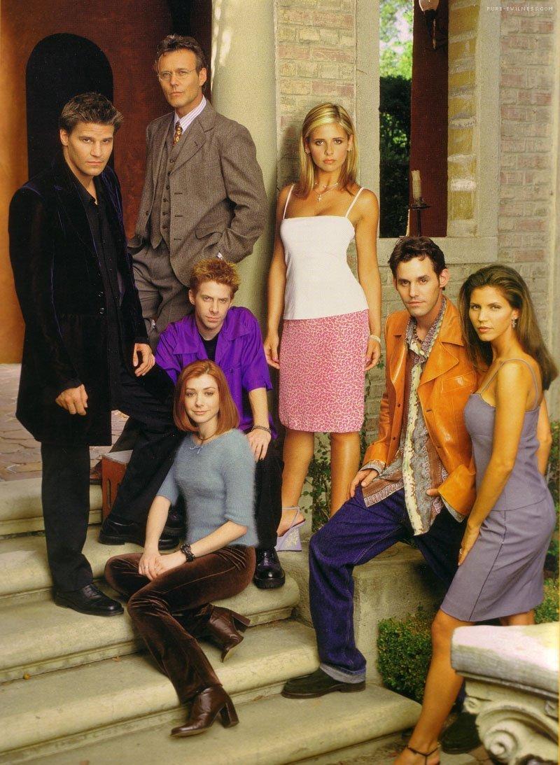 Buffy The Vampire Slayer Images Season 3 Cast Hd Wallpaper