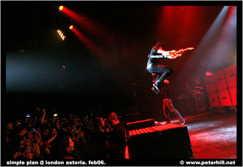 simple plan London 06