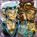 skywise and leetah - elfquest icon