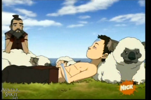 sokka and aang