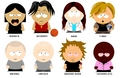 south park characters!