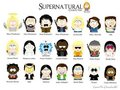 south park style Supernatural