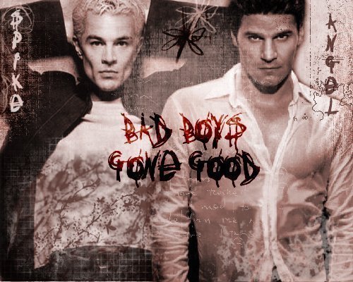 Buffy the Vampire Slayer wallpaper titled spike & angel-2 hot vampires