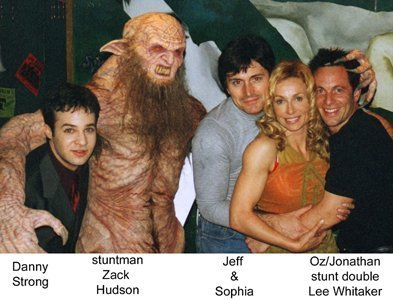 buffy, a caça-vampiros wallpaper entitled stunt doubles and danny strong