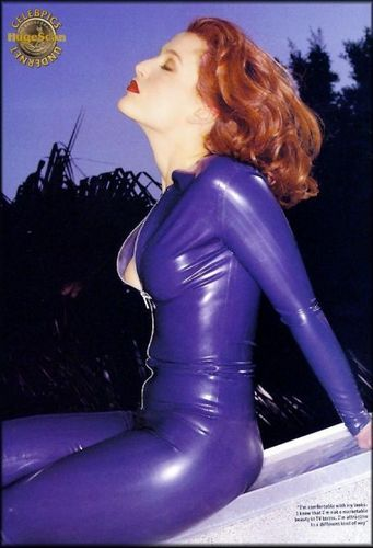 The X-Files 壁纸 containing tights and a leotard titled sublime gillian