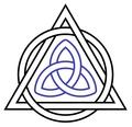 triquetra - witchcraft photo