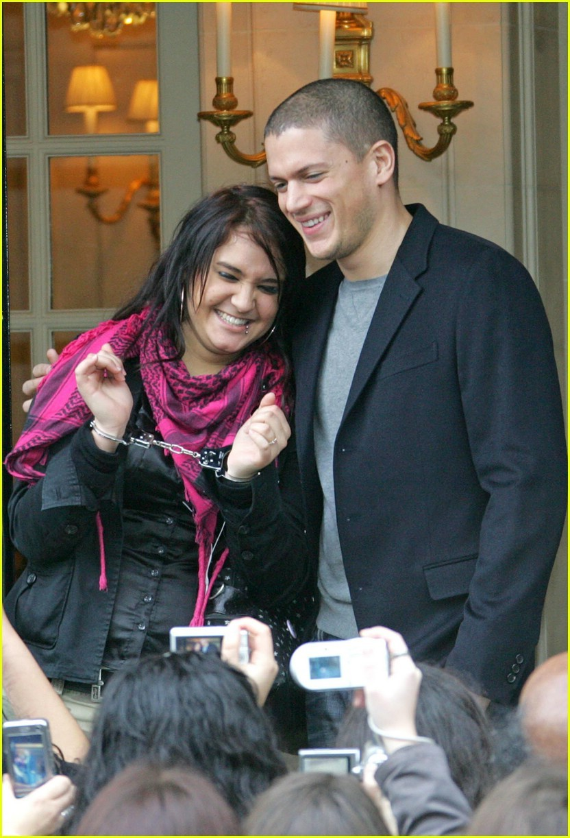 wentworth miller and his girlfriend
