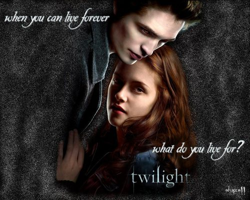 what do you live for - twilight-series Wallpaper