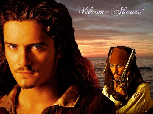will turner - orlando-bloom Wallpaper