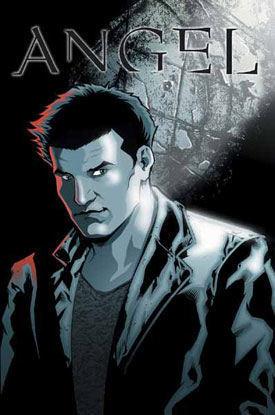 Buffyverse Comics 바탕화면 called 앤젤 comic cover