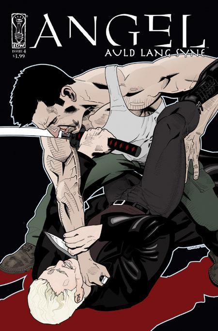 Angel comic cover