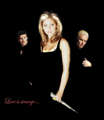 Buffy,Angel,Spike